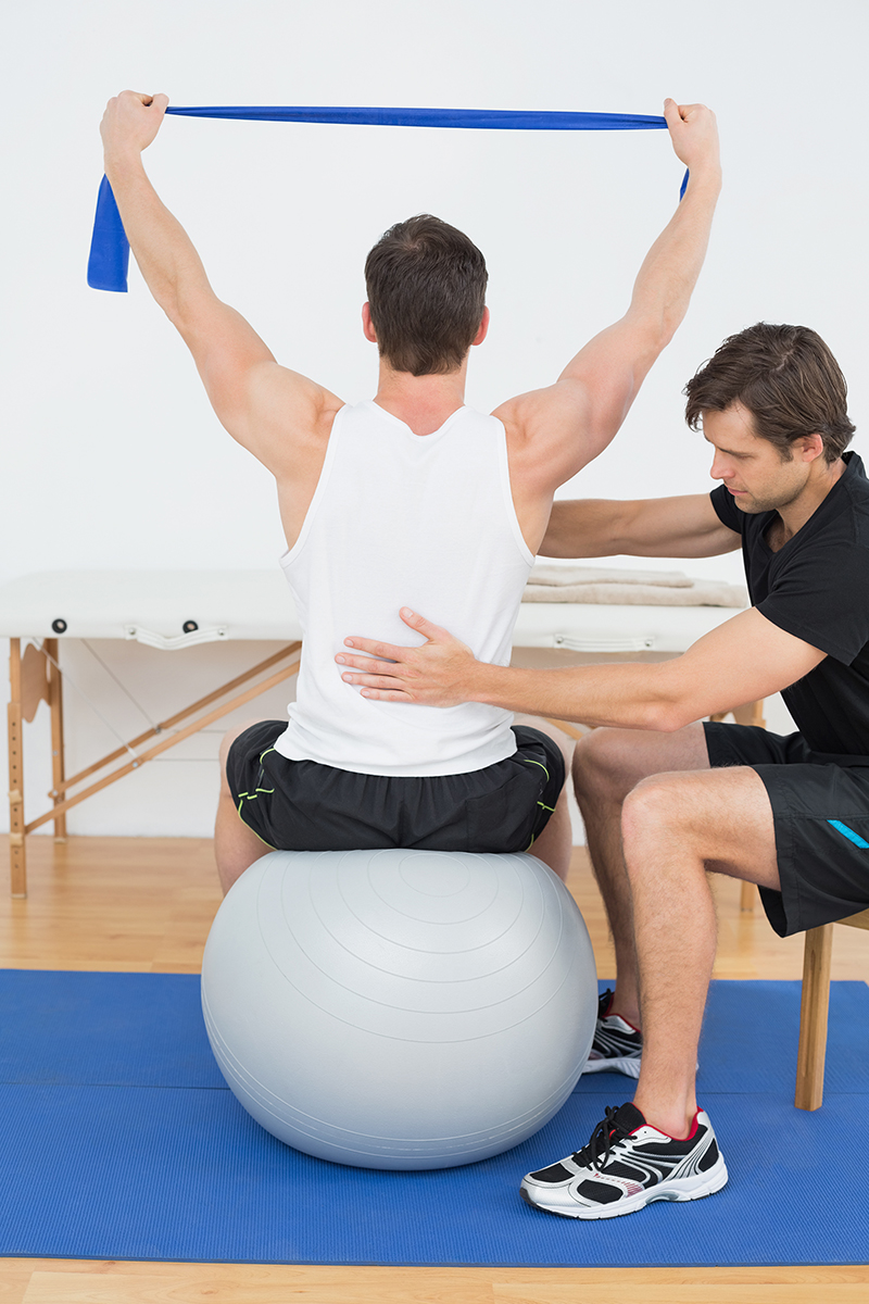 Core strength initial assessment